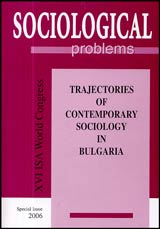 Sociological Problems, An. XXXVIII, 2006 - Special Issue